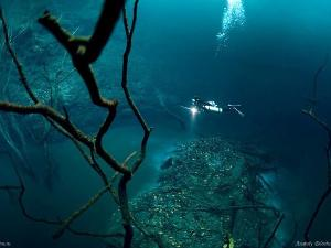 Mystery of 'River' in the Sea of ??Mexico