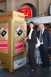 Gold Can Buy Through ATM Machines