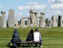 Strange Structure in the Near Stonehenge