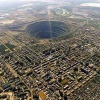 Mirny Diamond Mine, Siberia