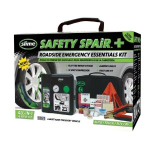 Slime 50051 Safety Spair All In One Slime 50051 Safety Spair Roadside Emergency Essential Kit