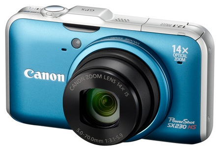Canon PowerShot SX230 HS GPS Canon PowerShot SX230 HS 14x Optical Zoom Camera with GPS