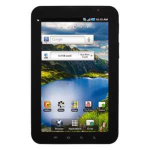 Features and Specifications Samsung Galaxy Tab (AT&T)