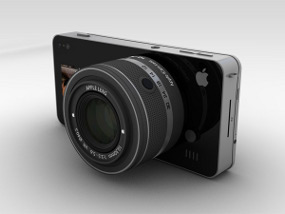 iCam, an iPhone 5 that Being Digital Camera