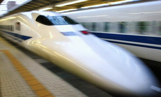 Japan Bullet Train Shinkansen