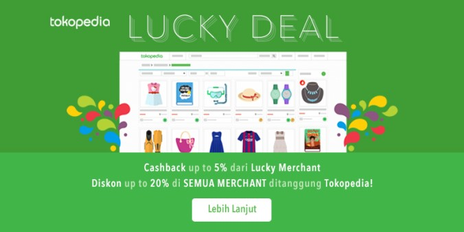 Lucky Deal Tokopedia