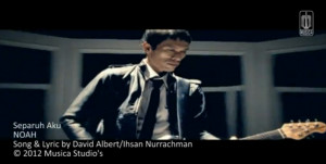 Video Separuh Aku Noah Band 300x151 Lirik Lagu dan Official Video Separuh Aku Noah Band