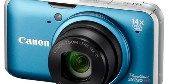 Canon PowerShot SX230 HS 14x Optical Zoom Camera with GPS