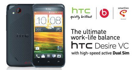 Harga dan Spesifikasi HTC Desire VC
