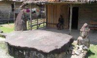 Megallit Orang Sholat Ditemukan di Pagaralam