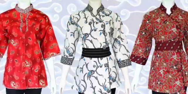 Model Baju Batik Wanita Terbaru 2018 Paling Banyak Diminati