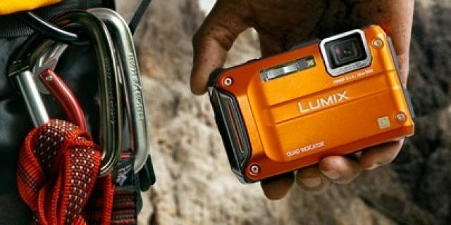 Panasonic LUMIX DMC-TS4 (FT4) Kamera Saku Bagi Petualang