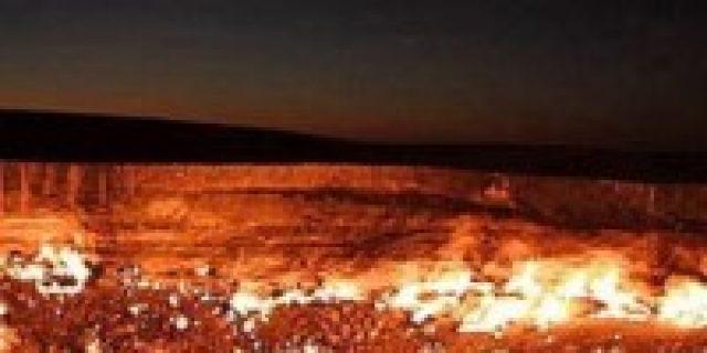 """Misteri """"Pintu Neraka"""" di Turkmenistan"""