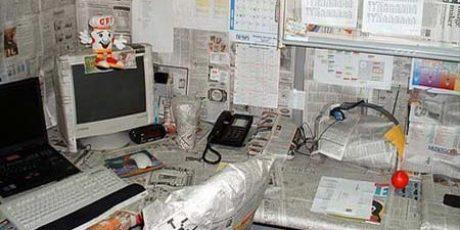 Ruangan Kerja Yang Unik dan Aneh