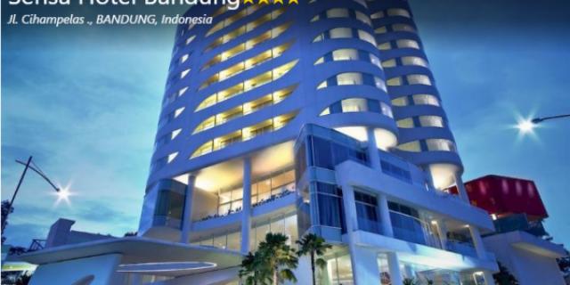 Sensa Hotel Bandung, Rekomendasi Penginapan Dekat Cihampelas Walk