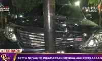 Setya Novanto Kecalakaan Pelipisnya Benjol Segede Bakpao