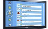 """Skype Hadirkan """"Chatting"""" Lewat TV"""