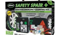 Slime 50051 Safety Spair Roadside Emergency Essential Kit