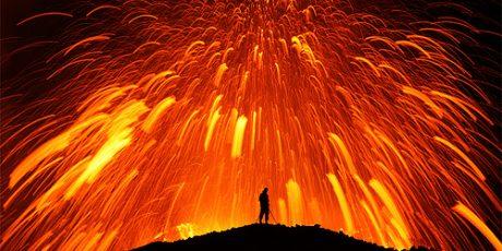 Foto-foto Letusan Vulkano Eyjafjallajokull Islandia